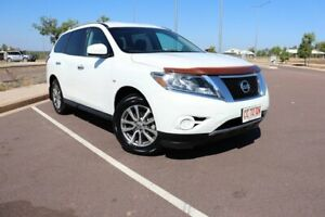 2013 Nissan Pathfinder R52 MY14 ST X-tronic 2WD White 1 Speed Automatic Wagon Gunn Palmerston Area Preview