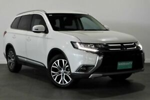 2016 Mitsubishi Outlander ZK MY17 LS 2WD Safety Pack White 6 Speed Constant Variable Wagon Bayswater Bayswater Area Preview