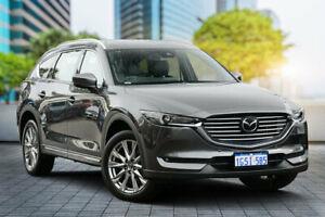 2018 Mazda CX-8 KG4W2A Asaki SKYACTIV-Drive i-ACTIV AWD Machine Grey 6 Speed Sports Automatic Wagon Bayswater Bayswater Area Preview