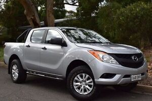 2015 Mazda BT-50 UP0YF1 XT 4x2 Hi-Rider Silver 6 Speed Sports Automatic Utility St Marys Mitcham Area Preview