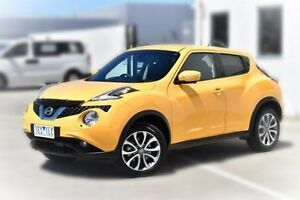 2015 Nissan Juke F15 Series 2 Ti-S 2WD Yellow 6 Speed Manual Hatchback Pakenham Cardinia Area Preview