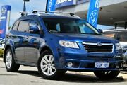 2011 Subaru Tribeca B9 MY11 R AWD Premium Pack Blue 5 Speed Sports Automatic Wagon Willagee Melville Area Preview