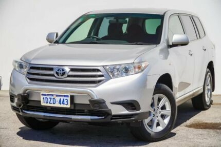 2012 Toyota Kluger GSU40R MY12 KX-R 2WD Silver 5 Speed Sports Automatic Wagon Bellevue Swan Area Preview