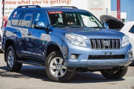 2012 Toyota Landcruiser Prado KDJ150R GXL Blue Storm 5 Speed Sports Automatic Wagon
