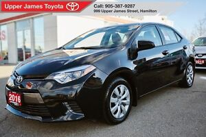2016 Toyota Corolla LE - 160-pt Toyota Certified.