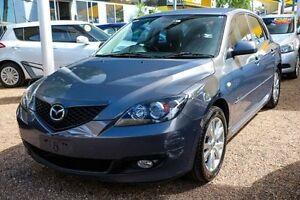2007 Mazda 3 BK10F2 MZR-CD Grey 6 Speed Manual Hatchback Minchinbury Blacktown Area Preview