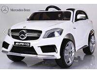 Mercedes A45, Parental Remote & Self Drive White