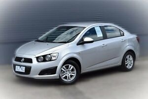 2014 Holden Barina TM MY15 CD Silver 5 Speed Manual Sedan Berwick Casey Area Preview
