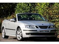 2007 Saab 9-3 1.9 TiD Vector Anniversary DIESEL MANUAL 2dr SAT NAV ALLOY LEATHER