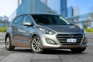 2015 Hyundai i30 GD3 Series II MY16 SR Silver 6 Speed Sports Automatic Hatchback Myaree Melville Area Preview