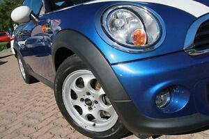 2013 Mini Cooper R56 MY13 RAY Blue 6 Speed Automatic Hatchback Zetland Inner Sydney Preview