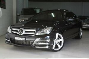 2012 Mercedes-Benz C250 C204 BlueEFFICIENCY 7G-Tronic + Grey 7 Speed Sports Automatic Coupe Castle Hill The Hills District Preview