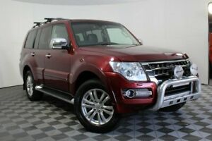 2015 Mitsubishi Pajero NX MY16 Exceed Red 5 Speed Sports Automatic Wagon Wayville Unley Area Preview