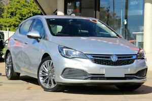 2017 Holden Astra BK MY18 RS-V Silver 6 Speed Sports Automatic Hatchback East Toowoomba Toowoomba City Preview