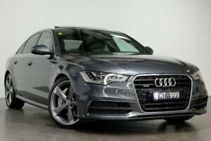 2013 Audi A6 4G MY13 Bi-Turbo Tiptronic Quattro Grey 8 Speed Sports Automatic Sedan South Melbourne Port Phillip Preview