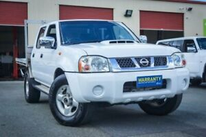 2013 Nissan Navara D22 S5 ST-R White 5 Speed Manual Utility Coopers Plains Brisbane South West Preview