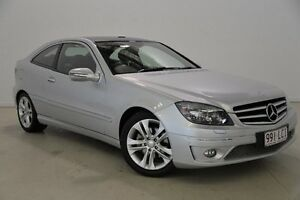 2008 Mercedes-Benz CLC200 Kompressor CL203 Evolution + Silver 5 Speed Automatic Coupe Mansfield Brisbane South East Preview