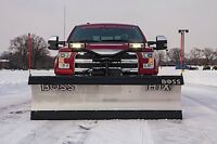"Boss 7' & 7'6"" HTX Plow for 1500 Trucks"