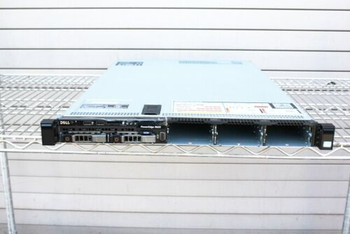 DELL Poweredge R620 2 x EIGHT CORE 2.20GHZ E5-2660 64GB 2 x 500GB SERVER QTY//