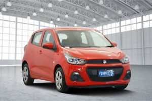 2016 Holden Spark MP MY17 LS Red 1 Speed Constant Variable Hatchback Victoria Park Victoria Park Area Preview