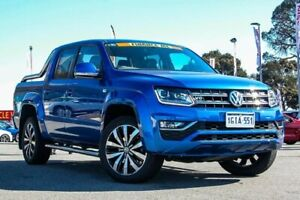 2017 Volkswagen Amarok 2H MY17 TDI550 4MOTION Perm Ultimate Blue 8 Speed Automatic Utility Cannington Canning Area Preview