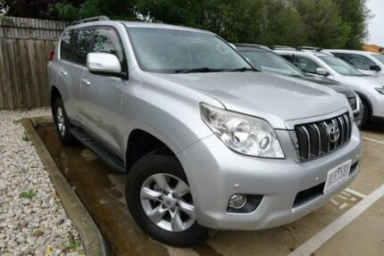 2012 Toyota Landcruiser Prado KDJ150R Altitude Silver 5 Speed Sports Automatic Wagon Hoppers Crossing Wyndham Area Preview