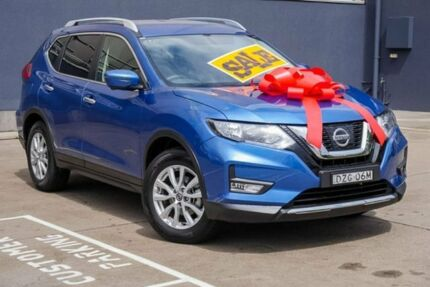 2018 Nissan X-Trail T32 Series II ST-L X-tronic 2WD Blue 7 Speed Constant Variable Wagon Brookvale Manly Area Preview