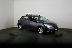 2014 Nissan Pulsar C12 ST Grey Continuous Variable Hatchback McGraths Hill Hawkesbury Area Preview