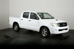 2011 Toyota Hilux KUN16R MY11 Upgrade SR White 5 Speed Manual Dual Cab Pick-up McGraths Hill Hawkesbury Area Preview