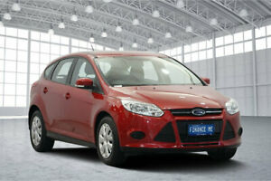 2014 Ford Focus LW MkII MY14 Ambiente PwrShift Candy Red 6 Speed Sports Automatic Dual Clutch
