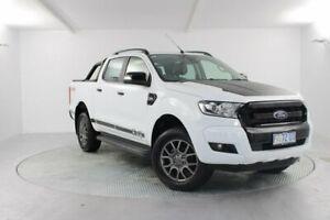 2017 Ford Ranger PX MkII FX4 Double Cab White 6 Speed Sports Automatic Utility Launceston Launceston Area Preview