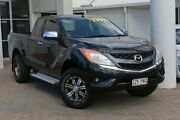 2011 Mazda BT-50 UP0YF1 XTR Freestyle Black 6 Speed Manual Utility Southport Gold Coast City Preview