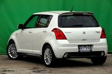 2009 Suzuki Swift RS416 Sport White 5 Speed Manual Hatchback Ringwood East Maroondah Area Preview