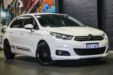 2015 Citroen C4 B7 MY15 Seduction White 6 Speed Sports Automatic Hatchback Perth Perth City Area Preview