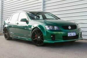 2010 Holden Commodore VE MY10 SS V Green 6 Speed Sports Automatic Sedan