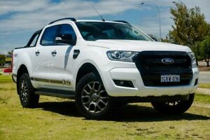 2017 Ford Ranger PX MkII 2018.00MY FX4 Double Cab White 6 Speed Sports Automatic Utility Clarkson Wanneroo Area Preview
