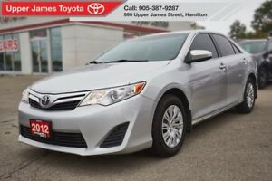 2012 Toyota Camry LE - Excellent service history.