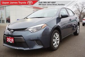 2016 Toyota Corolla LE - Toyota Certified for peace of mind.