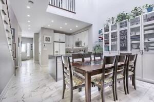 Newly Renovated 4 Br 4 Wr Home in Richmond Hill on Ravine!