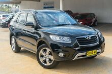 2012 Hyundai Santa Fe CM MY12 Highlander Black 6 Speed Sports Automatic Wagon Greenacre Bankstown Area Preview
