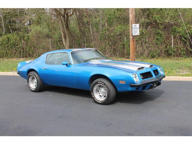 Imagen 1 de Pontiac Firebird blue