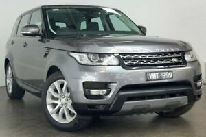 2014 Land Rover Range Rover Sport L494 MY15 TDV6 SE Grey 8 Speed Sports Automatic Wagon South Melbourne Port Phillip Preview