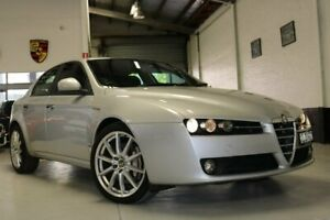 2012 Alfa Romeo 159 MY09 JTS Q4 Ti Silver 6 Speed Sports Automatic Sedan West Melbourne Melbourne City Preview
