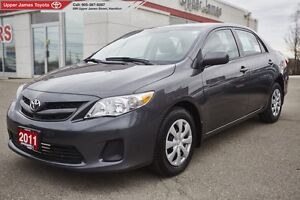 2011 Toyota Corolla CE - One former owner.