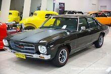 1974 Holden Monaro HQ GTS Black 4 Speed Manual Sedan Carss Park Kogarah Area Preview