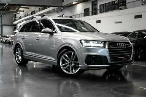2015 Audi Q7 4M TDI Silver Sports Automatic Westmeadows Hume Area Preview