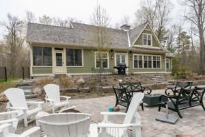 Enjoy a week away with your family or friends in the Muskoka's