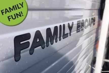 NG012 Nova Family Escape 16ft, BUNK VAN, Family Fun Getaway