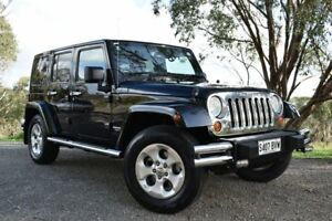 2012 Jeep Wrangler JK MY2013 Unlimited Overland Black 5 Speed Automatic Hardtop St Marys Mitcham Area Preview