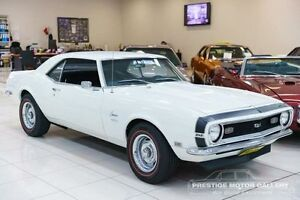 1968 Chevrolet Camaro White Pearl 4 Speed Manual Coupe Carss Park Kogarah Area Preview